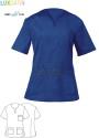 Bluza kucharska Margherita ' Kolor niebieski ' 10M2062C - IB / 950