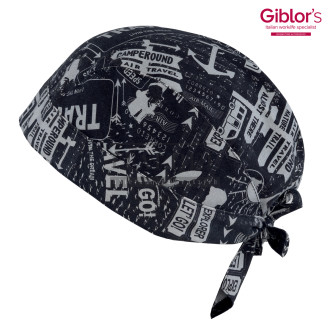 Bandana kucharska ' Kolor travel F014 ' 19P05I481 - 105