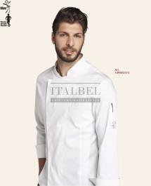 Bluza kucharska Davide, Biały 00 - 14P08G474 - 16 / 5