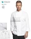 Bluza kucharska Gabriel ' Kolor biały ' Roz. S-3XL ' 13P08G301 - 18 / 160