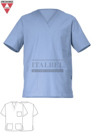 Bluza kucharska Piero ' Kolor błękitny ' 1335 - 493
