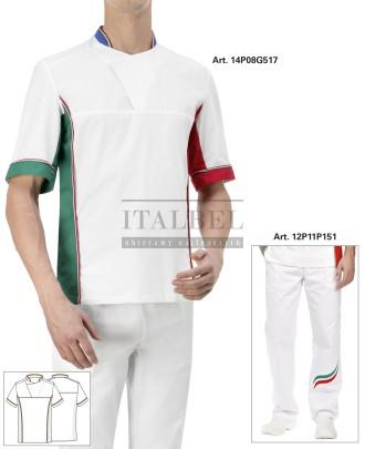 Bluza Pizzaiolo Italia, kolor biały ITA - 14P08G517 - 16 / 102