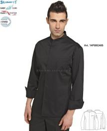 Bluza kucharska Coreana Sergio 14P08G465 - Czarny 000 - 16 / 7