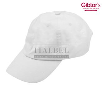 Czapka baseball ' Kolor biały ' 501 - 150