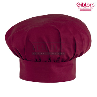 Czapka kucharska Chef ' Kolor bordowy ' 19P05I1651 - 32