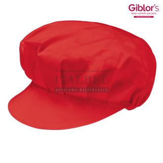 Czapka kucharska Monello ' Kolor czerwony 437 ' 401/C - 19 / 101