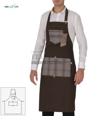 Fartuch kelnerski Bristol, kolor brązowy 322 - 18P01H009 - 190