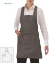 Fartuch kelnerski Elettra ' Kolor czarny JR000 '18P01H900 - 18 / 341