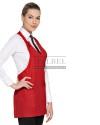 Fartuch kelnerski Monroe ' Kolor czerwony ' 11P01H30 - 13 / 201