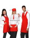1. Fartuch kelnerski London 9M1913 2. Zapaska kelnerska Charlie 9M1917 3. Fartuch kelnerski Scotland 9M1914 - Czerwony 005 - 640