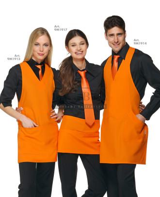 1. Fartuch kelnerski London 9M1913 2. Zapaska kelnerska Charlie 9M1917 3. Fartuch kelnerski Scotland 9M1914 - Pomarańczowy 465 - 642
