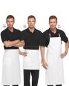 Fartuch i zapaski kucharskie ' Kolor biały ' 406+406E 407+407E 408+408E - 75