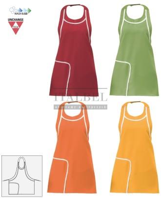 Fartuszek kelnerski Graziella 17P01H940 - Czerwony 005, Pistacjowy 2019, Pomarańczowy 465, Żółty 390 - 661