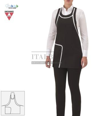 Fartuszek kelnerski Graziella ' Kolor czarny ' 17P01H940 - 18 / 660
