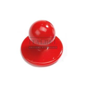 Guzik kucharski wyjmowany błyszczący ' Kolor czerwony ' 99-C - 102