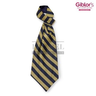 Krawat Ascot ' Kolor żółto-granatowy ' 508 - 50