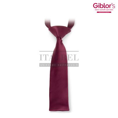 Krawat damski ' Kolor bordowy ' 512 - 23