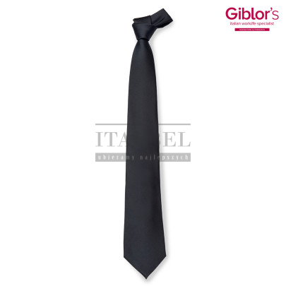 Krawat męski ' Kolor czarny ' 511 - 2