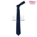 Krawat męski ' Kolor granatowy w kropki ' 19P05I141 - 21