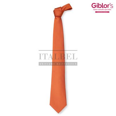 Krawat męski ' Kolor pomarańczowy ' 511 - 6
