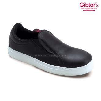 Mokasyny kucharskie Slip-On Roma ' Kolor czarny ' Roz. 36-47 ' 479 - 12
