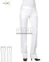 Spodnie kosmetyczne Alexandra 7M164 - Biały 00 - 16 / 601