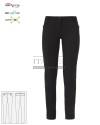 Spodnie kosmetyczne Layla ' Kolor czarny ' Roz. XS-XXL ' 17P01P903 - 11