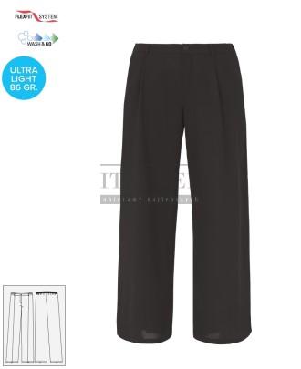 Spodnie kosmetyczne Twigghi ' Kolor czarny ' Roz. XS-XXL ' 18P02P057 - 28