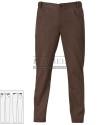 Spodnie kucharskie Liverpool ' Kolor brązowy ' 15P08P606 - 17 / 400