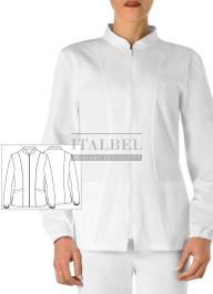 Bluza Dalia ' Kolor biały ' 8M110 - 16 / 700