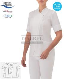 Tunika kucharska Carmen ' Kolor biały ' 17P02K936 - 19 / 750