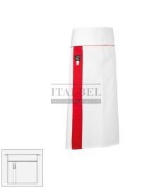 Zapaska kucharska Alex ' Kolor biały ' 10M2072 - 17 / 452